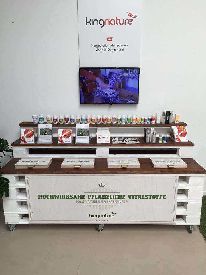 Show display unit for trade fairs