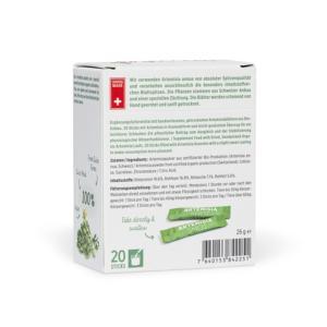 Artemisia Shots: Artemisia als Granulat für leichteres Schlucken