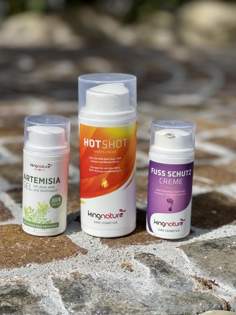 Naturkosmetik, Hot Shot, Fuss Schutzcreme, Artemisia Gel