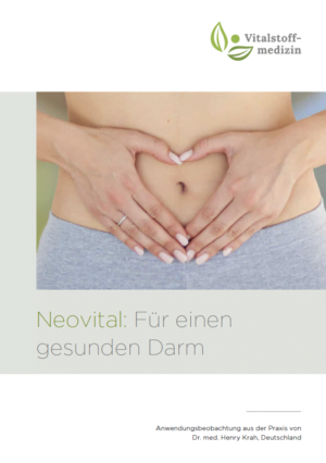 Neovtial Broschüre Cover gesunden Darm Vitalstoffmedizin
