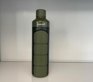 Trinkflasche, Kapseldose