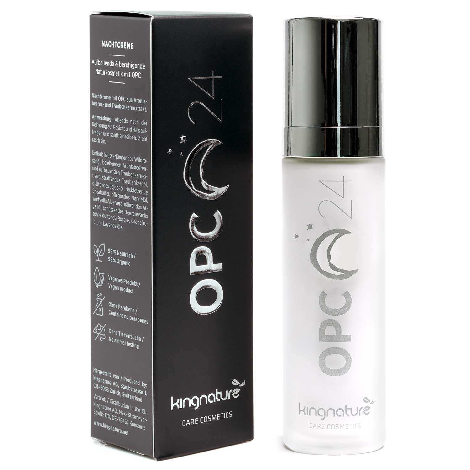 Buy OPC 24 Night Cream: Natural Cosmetics for your skin