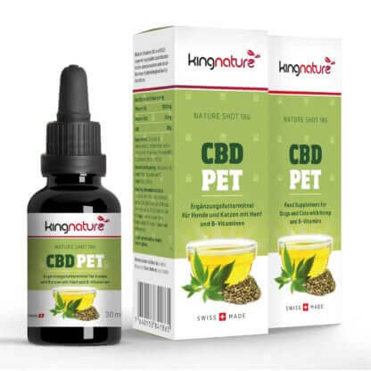 5% CBD Oil for animals in a bottle swiss made order online